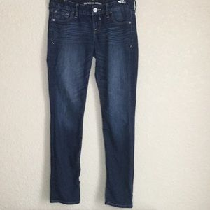 Express Jeans Skinny Whiskered size 2 Low Rise